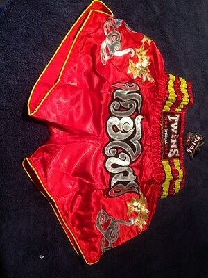 Twins Special Muay Thai Shorts, XL.