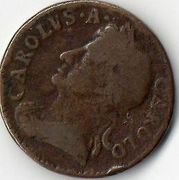 Charles 11 1672 Farthing Coin