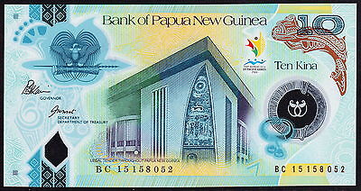 Papua New Guinea 10 Kina, 2015 BC15, Commemorative