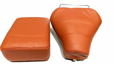 Vespa Single saddle & Seat cushion in Faux leather (V-1511)