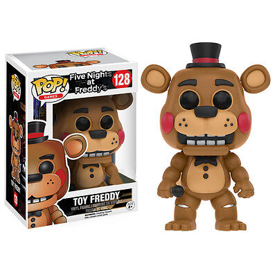 RARE Toy Freddy Five Nights at Freddys Official Funko POP! Vinyl Figure EXC NEW