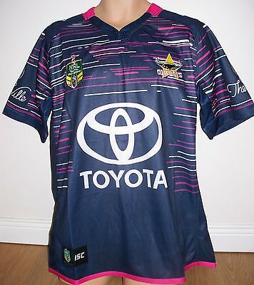 "Cowboys - North Queensland A- Rugby League- Nrl Australia - 2Xl - 50"" Chest -New"