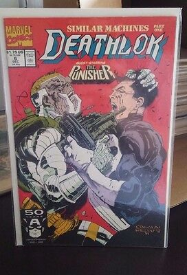 Deathlok #6 (Dec 1991, Marvel)