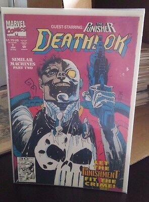Deathlok #7 (Jan 1992, Marvel)