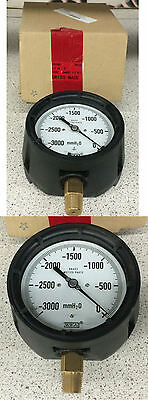 Wika 612.34 Low Pressure Process Gauge 0-3000