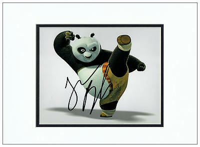 Jack Black Autograph Signed Photo - Kung Fu Panda - AFTAL  UACC RD