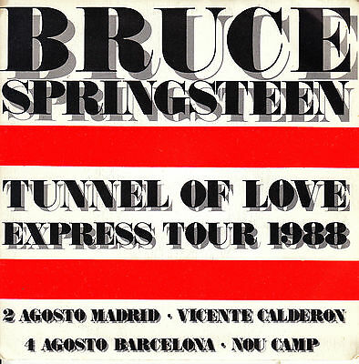 "7"" promo BRUCE SPRINGSTEEN tougher than the rest / born in the USA 45 SPAIN 1988"