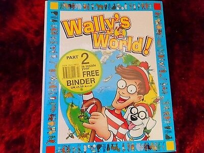 WALLY'S WORLD!, 1st Binder with Magazines.