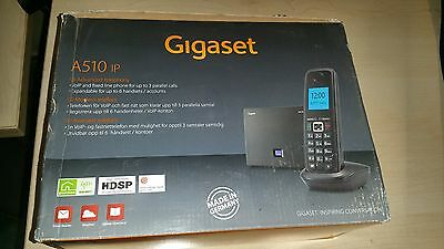 Siemens Gigaset A510IP VOIP SIP Wireless Phone Set
