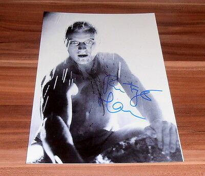Rutger Hauer *Blade Runner, Hitcher* original signed Photo 20x25 cm (8x10)