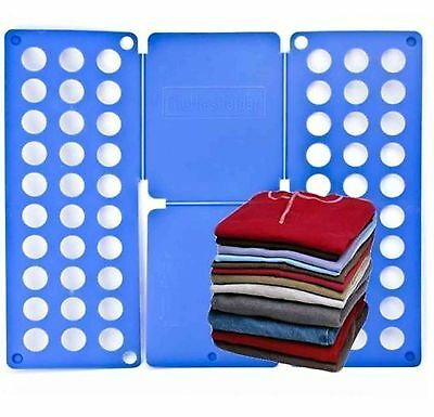 Adults Easy Magic Clothes Folder T Shirt Jumpers Organizer Fold Laundry Suitcase