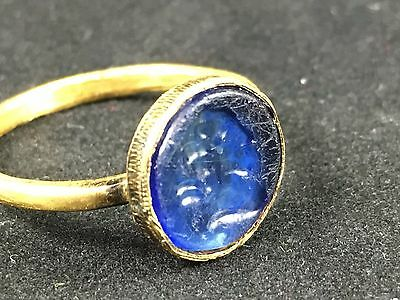 Antique gold ring with a cameo