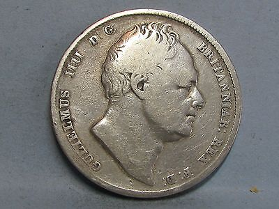 William Iv  Silver Half-Crown Coin  Dated 1836 (2)