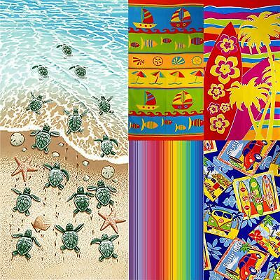 Lightweight Beach Towel Perfect for Holiday Sail, Campervan, Surfboard, Striped