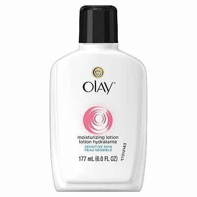 Olay Moisturizing Facial Lotion For Sensitive Skin, With Aloe - 6 Oz
