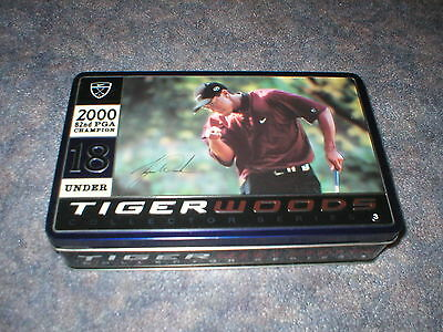 TIGER WOODS 2000 82nd PGA GOLF BALLS IN COLLECTOR TIN-4 SLEEVES-12 BALLS-NIKE