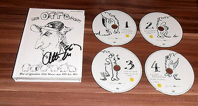 Otto Waalkes *Otto`s Eleven, 7 Zwerge*, original signed DVD Cover inkl. DVD`s