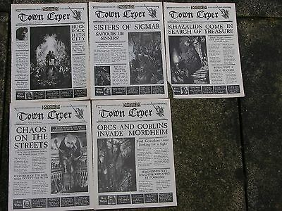 Mordheim Town Cryer, Original Issues, Ultra Rare