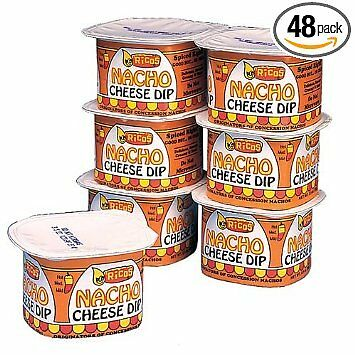 Ricos Nacho Cheese Dip - Portion Pak Cheese  (48 - 3.5 oz.)