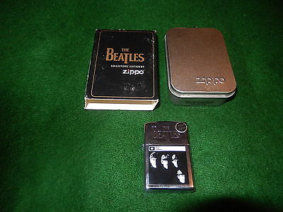 Beatles Zippo Lighter New In The Box