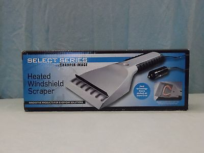 Select Series by Sharper Image Heated Windshield Scraper NIB