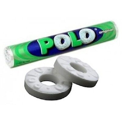 Polo Mints - The mint with the hole-31.2 gm x 5 Rolls