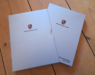 2004 Porsche Press Pack / Brochure / CD - 911 GT2, GT3, GT3 RS, Turbo + +