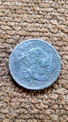 1794 Flowing Hair Large Cent Fine Details - Corrosion - Still NICE