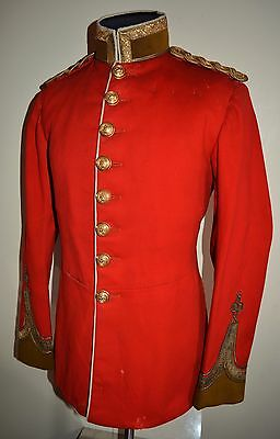 Northumberland Royal Fusiliers 1902 Pattern Officers Full Dress Tunic