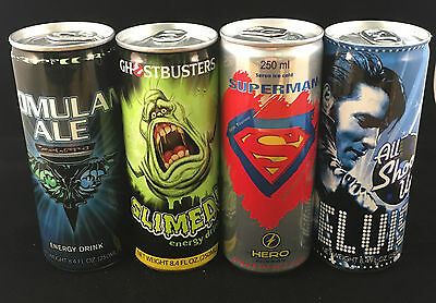 Energy Drink Collection - USA - Movie - Tv - Star Trek - Superman - Ghostbusters