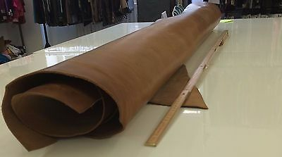 Brown Italian Leather Full Hide APX. 1.40 m2 2.4mm thick
