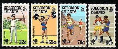 (Ref-9536) Solomon Islands 1988 Seoul Olympics  SG.631/634  Mint (MNH)
