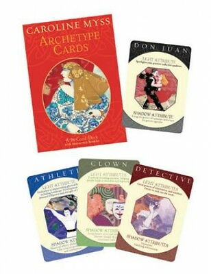HayHouse Publications Archetype Cards: An 80-card Deck with instruction booklet