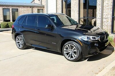 2015 BMW X5 xDrive35i Sport Utility 4-Door Black Sapphire M Sport Premium Driving Assistance Package 20 Inch Wheels More!