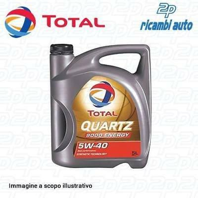 Olio Motore 5 Litri Total Quartz 5W40 Energy Synthetic (Latta Da 5 Lt.)