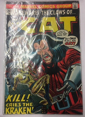 Marvel Comics Beware The Claws Of The Cat #3