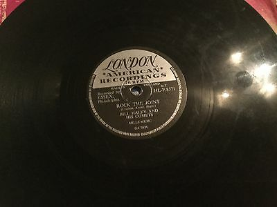 BILL HALEY ROCK THE JOINT RECORD 78 rpm