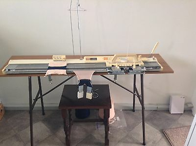 Brother KH710 Knitting Machine. Cleaned And Tested