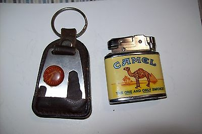 Vintage Camel Lighter Plus Marlboro Utility Country Store Key Chain