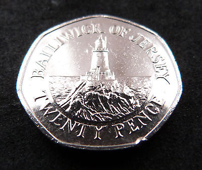 20p Pence Bailiwick of Jersey coin 2012