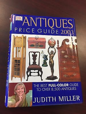Antiques Price Guide 2003 Judith Miller Hardcover Book.