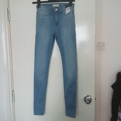 BN River Island Light Blue Molly Jegging Jeans - size 6