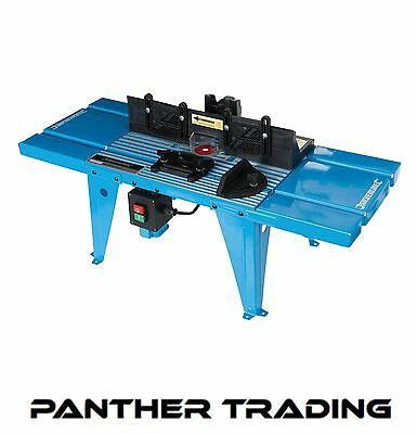 Silverline DIY Router Table With Protractor UK Bench Mounted Table - 460793