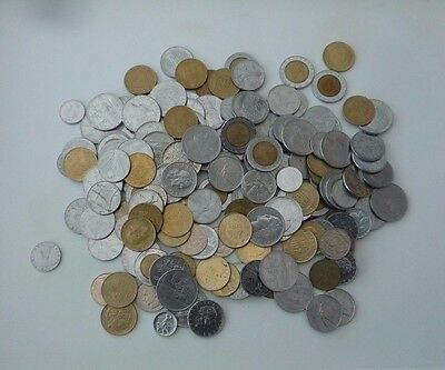 ITALY JOB LOT / COLLECTION 900g COINS FROM THE 1950's to1990's Ref T064