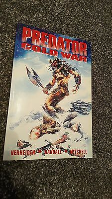 predator cold war graphic novel very rare titan books first edition dec 1994