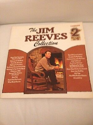 The Jim Reeves Collection 2 Record Set. 12inch Records