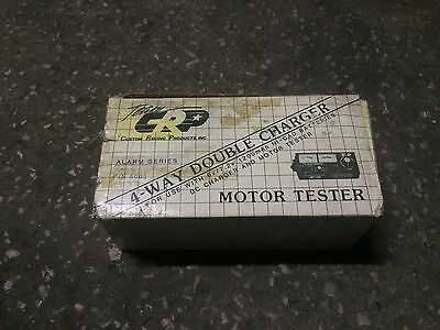 Vintage Team CRP original 4-Way Double Charger & Motor Tester (New)