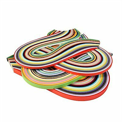 Outus 26 Colors 1040 Quilling Paper Strips, 3/ 5/ 7/ 10 mm, 4 Sets