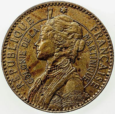 MARTINIQUE: franc, 1922