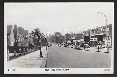 Kent Well Hall Road Eltham Real Photo